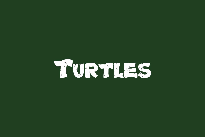 Turtles Free Font