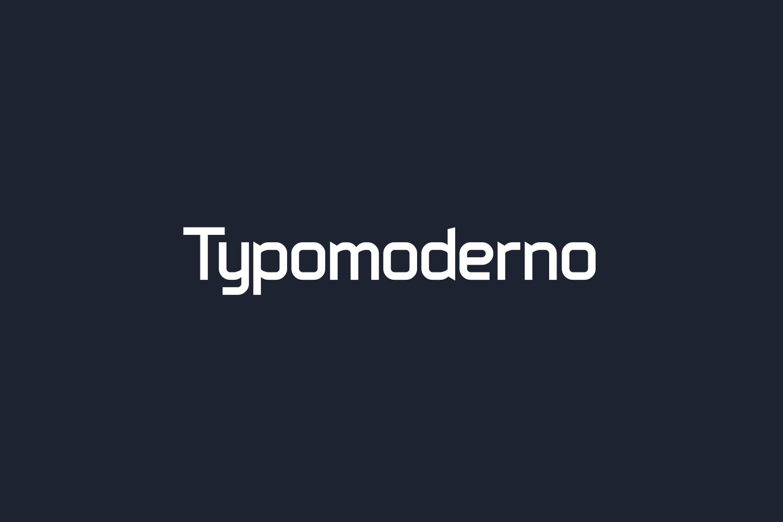 Typomoderno Free Font