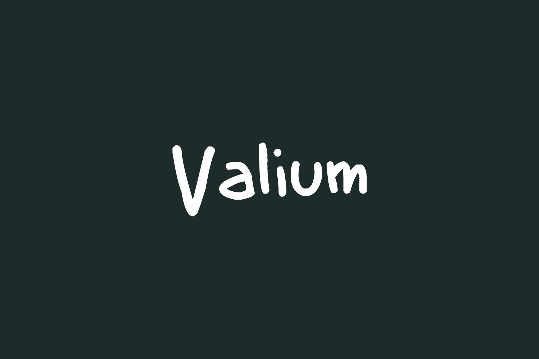 Valium Free Font