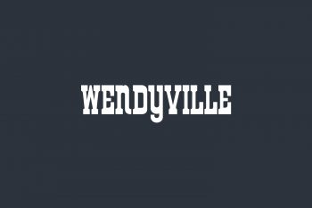 Wendyville Free Font