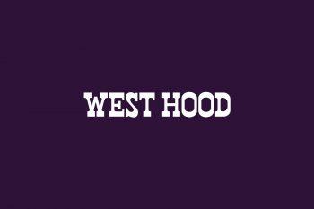 West Hood Free Font