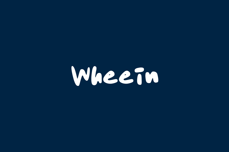 Wheein Free Font