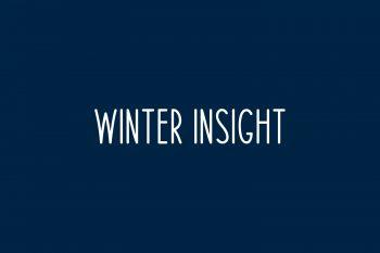 Winter Insight Free Font