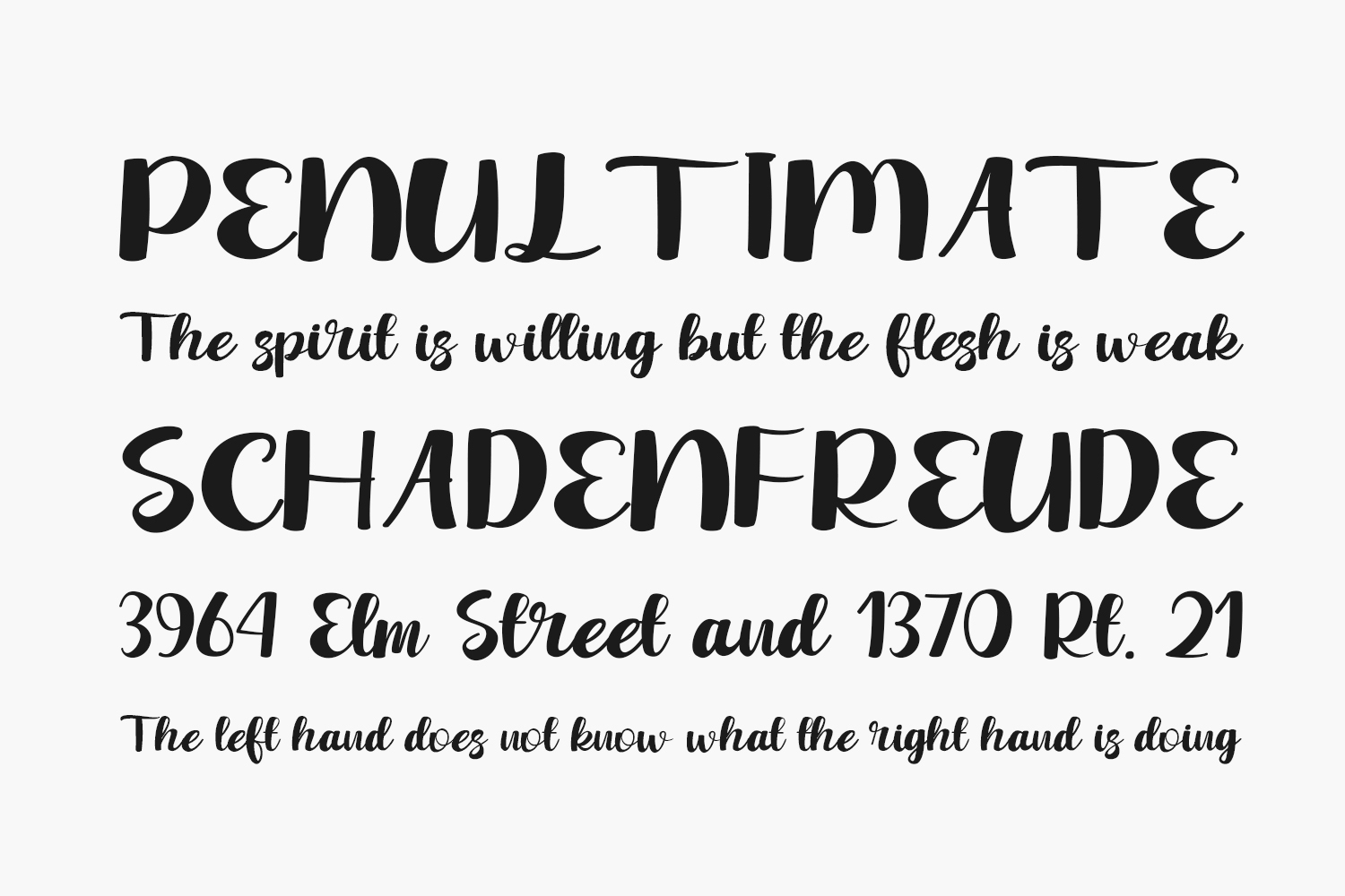 Winter Yesterday Free Font
