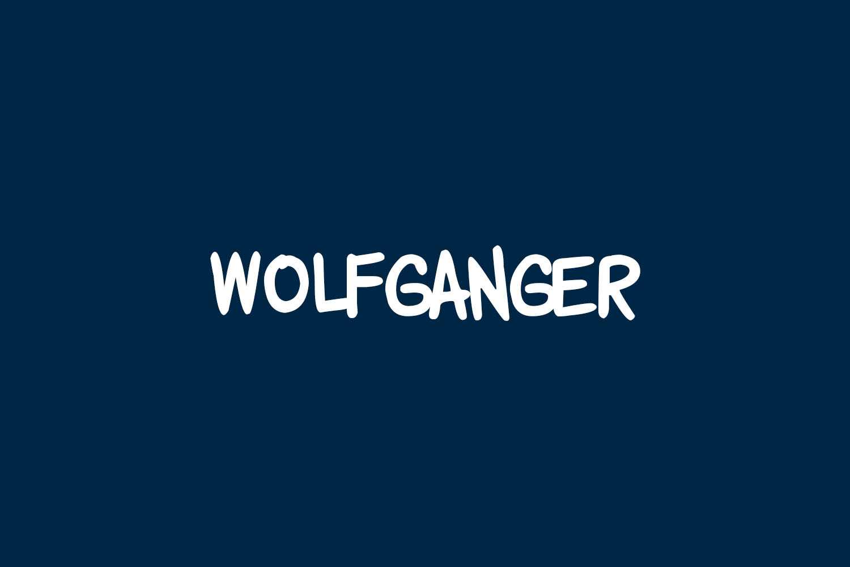 Wolfganger Free Font