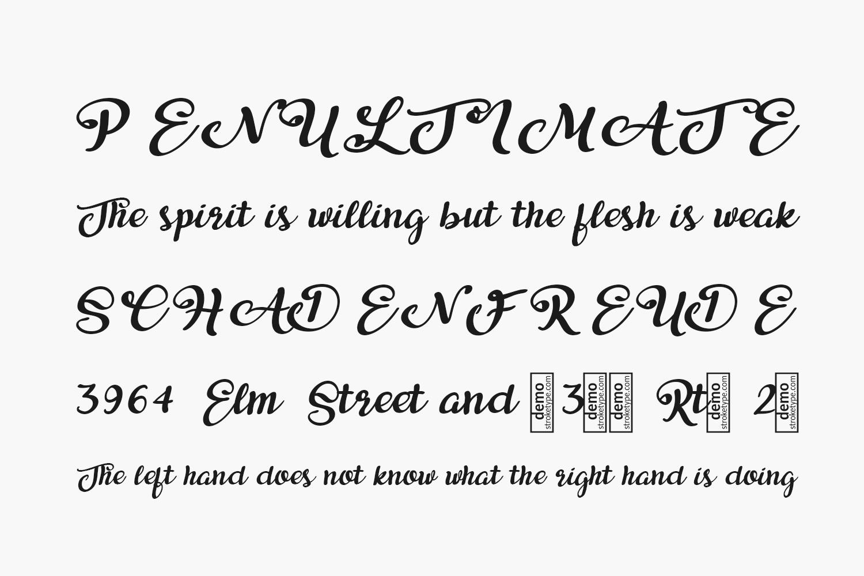 Aikaterine Free Font