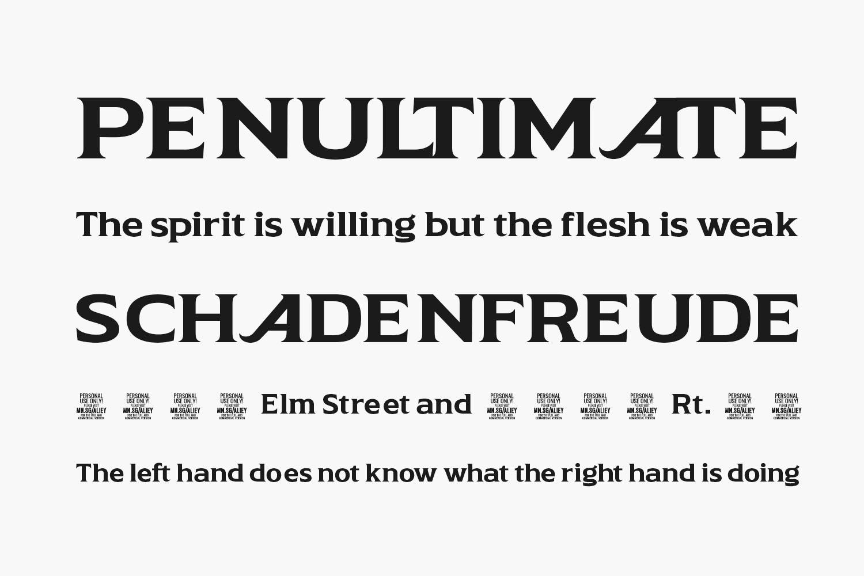 Aliey Free Font