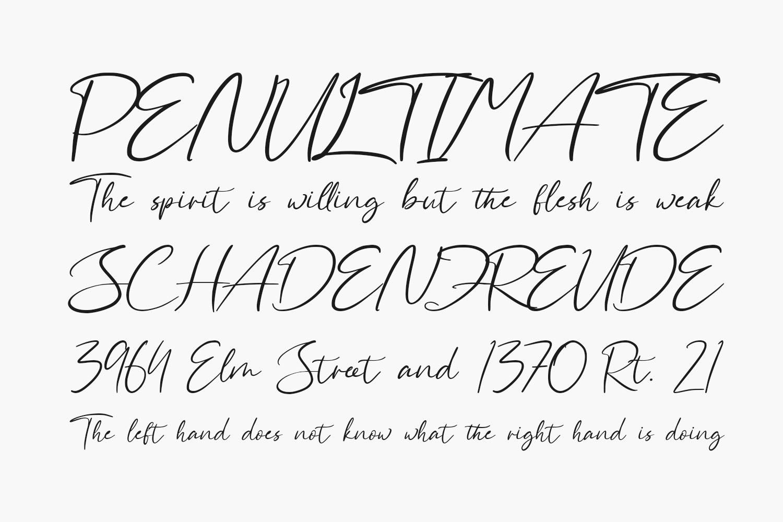 Aliya Ramsey Free Font