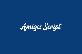 Amigos Script Free Font