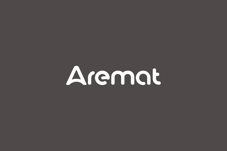 Aremat Free Font