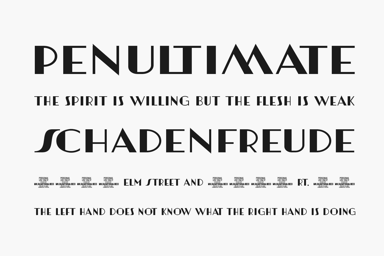Artisual Deco Free Font