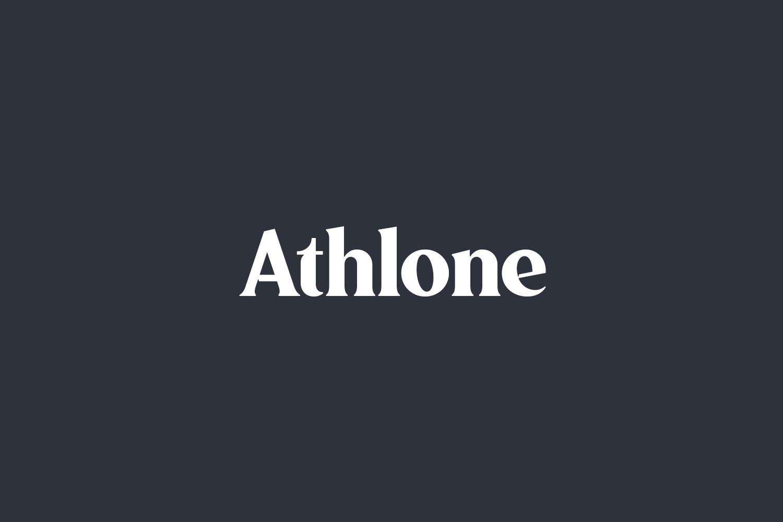 Athlone Free Font