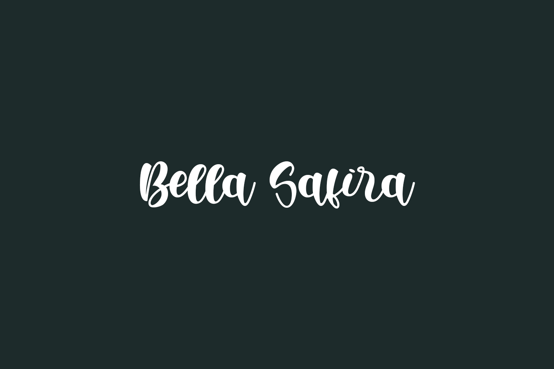 Bella Safira Free Font