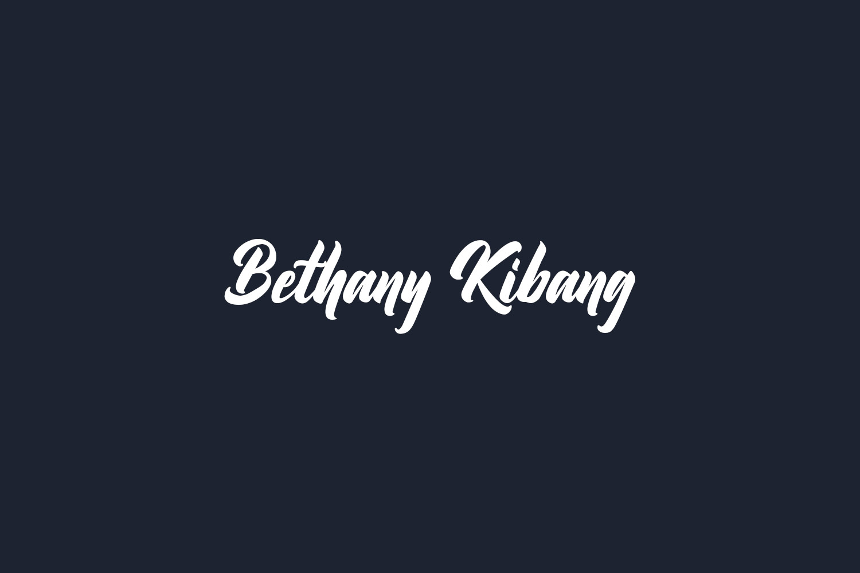 Bethany Kibang Free Font