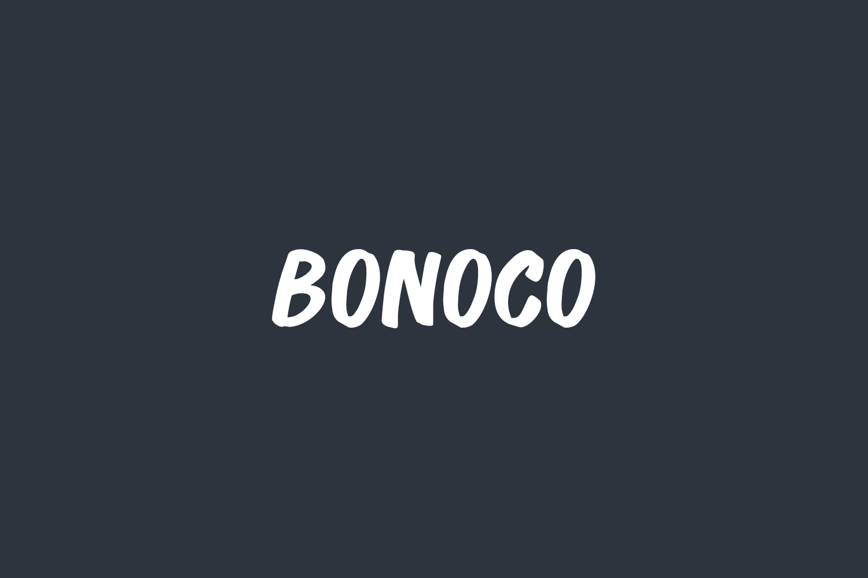 Bonoco Free Font