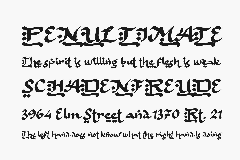 Bulan Rajab Free Font