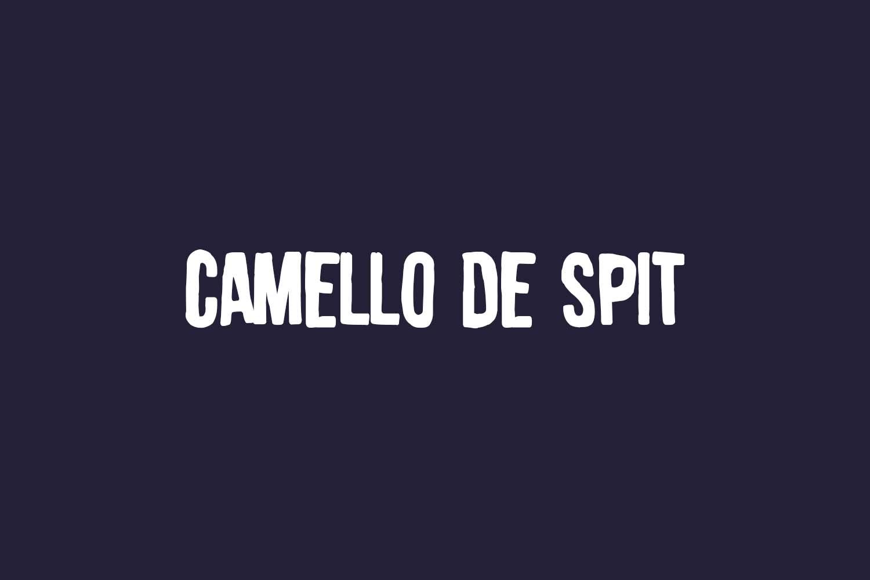 Camello De Spit Free Font