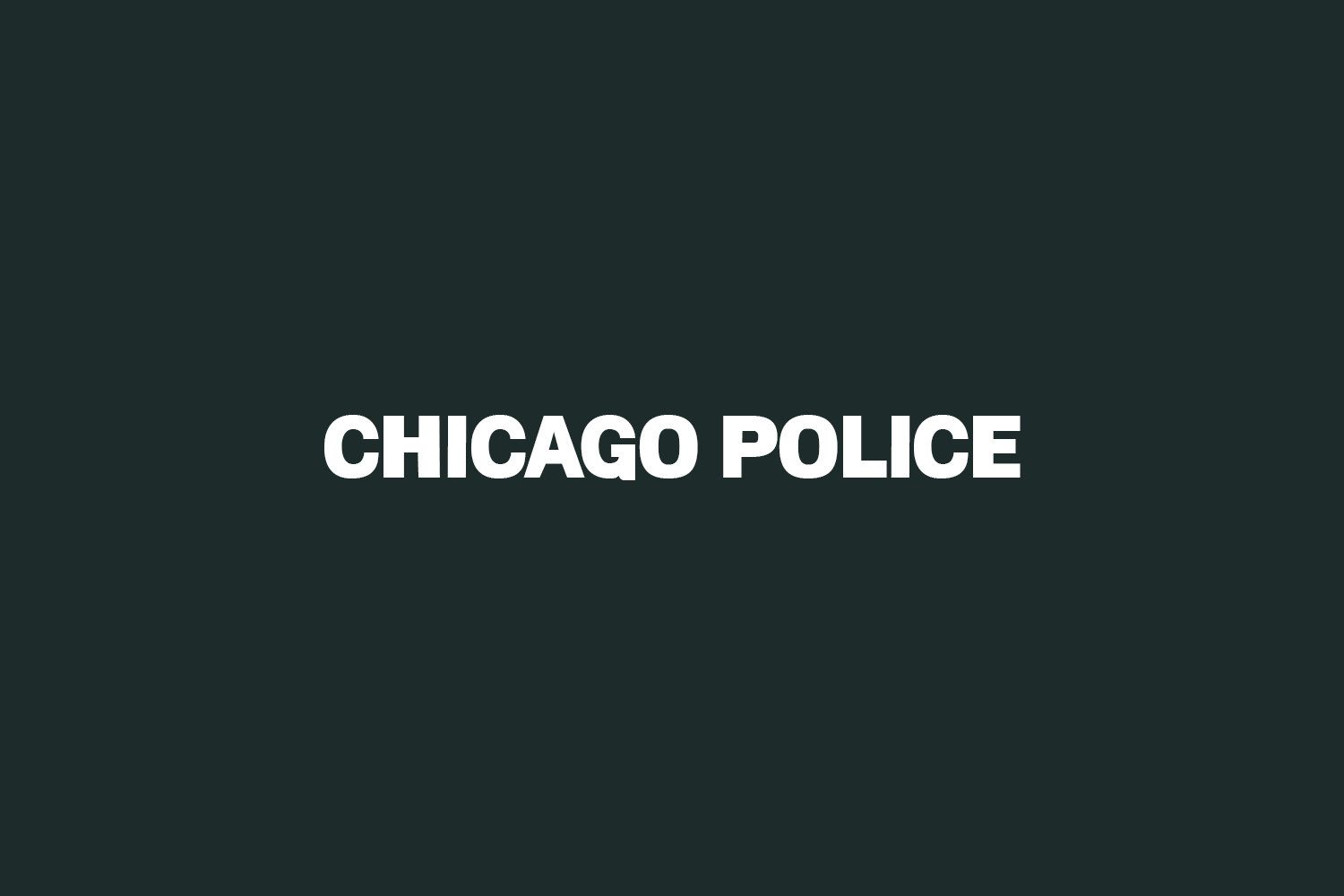 Chicago Police Free Font