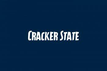Cracker State Free Font