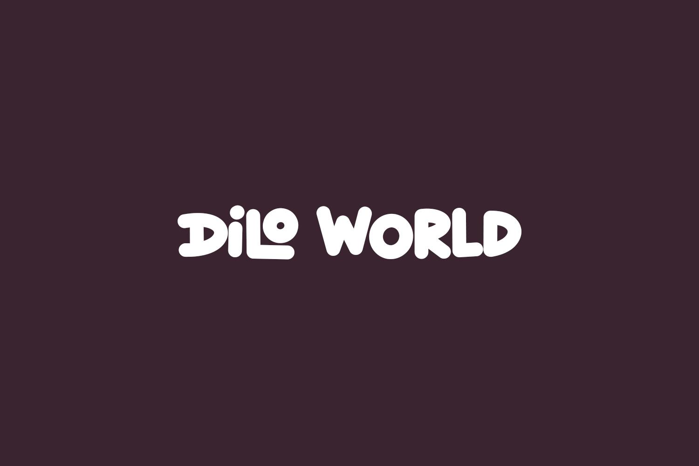 Dilo World Free Font