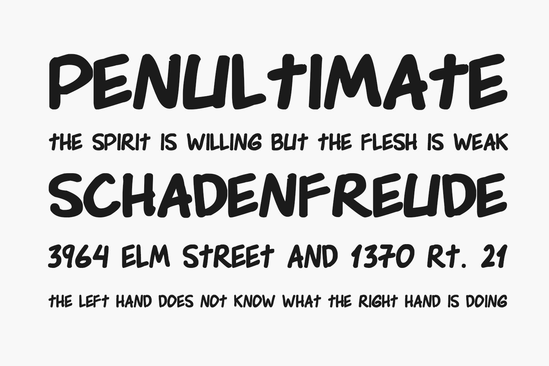 Edson Comics Free Font