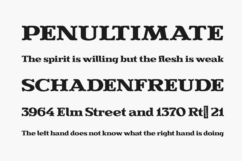 Evereast Serif Free Font