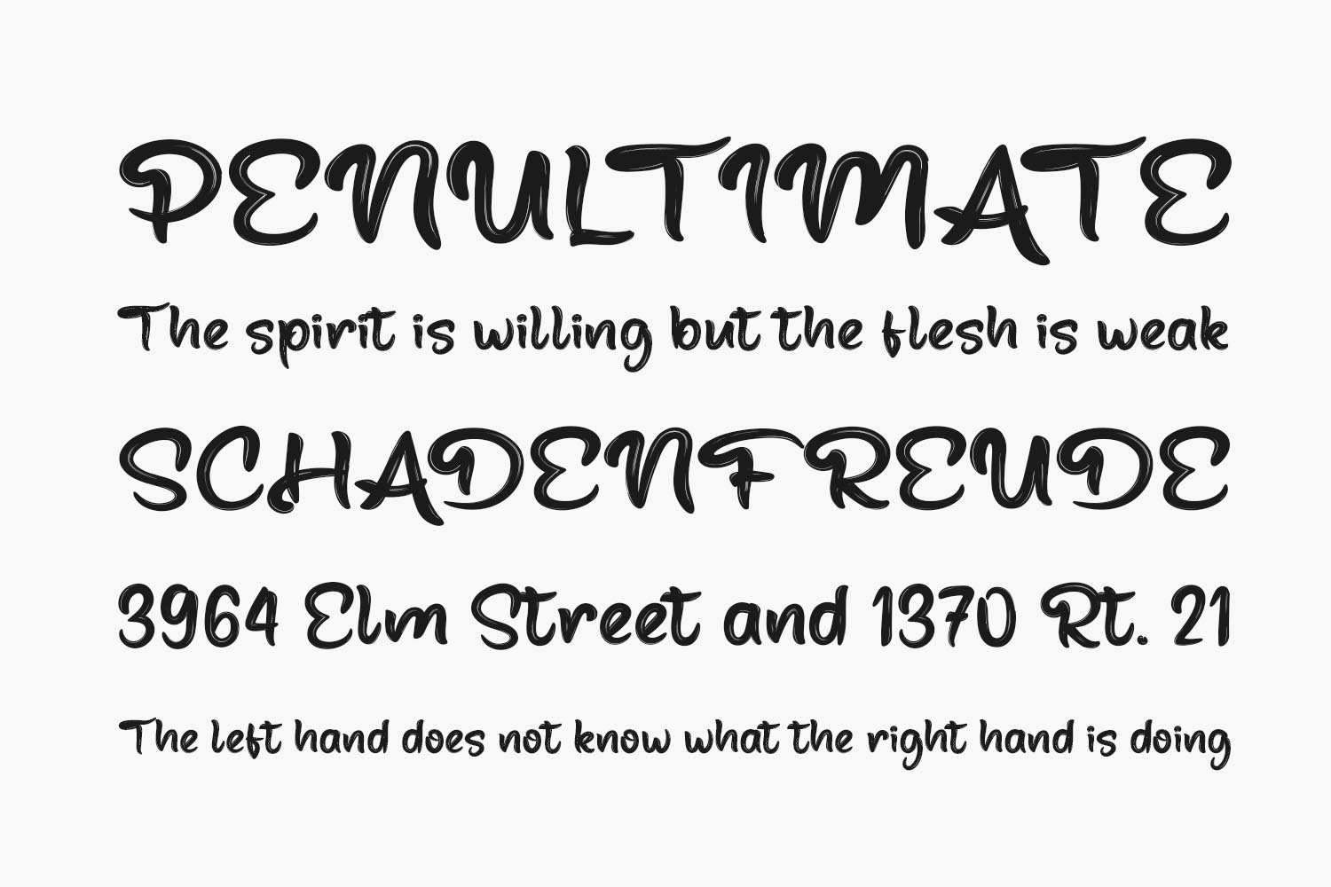 Fabled Free Font