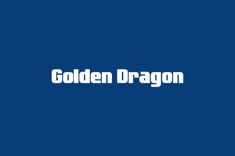 Golden Dragon Free Font