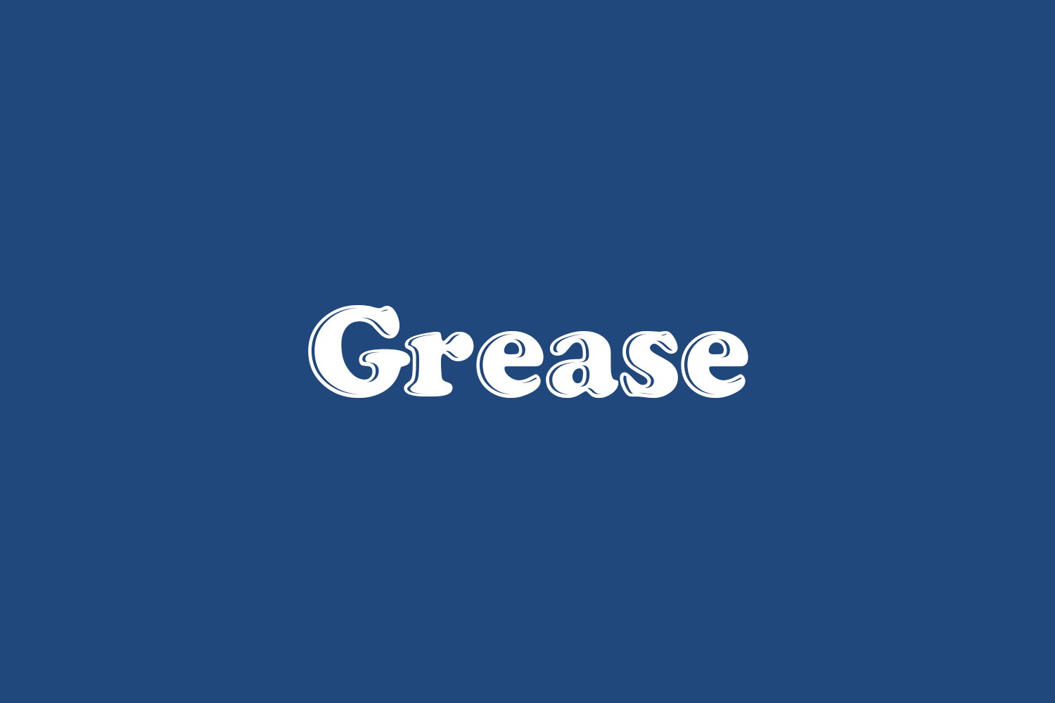 Grease Free Font