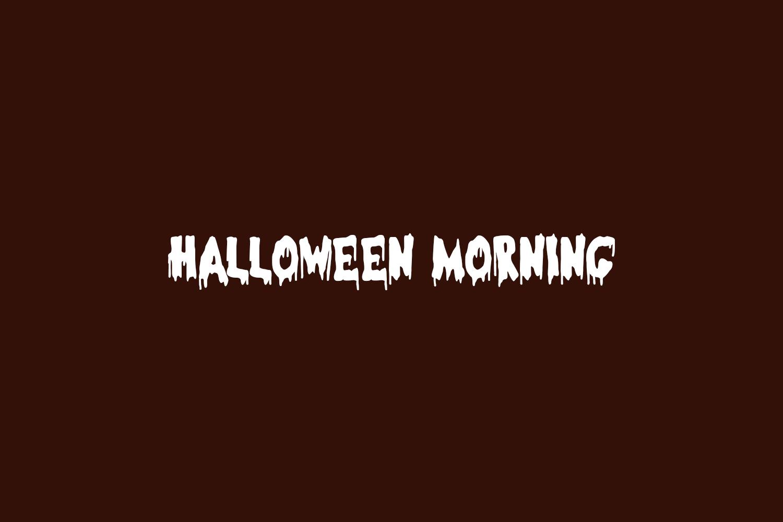 Halloween Morning Free Font