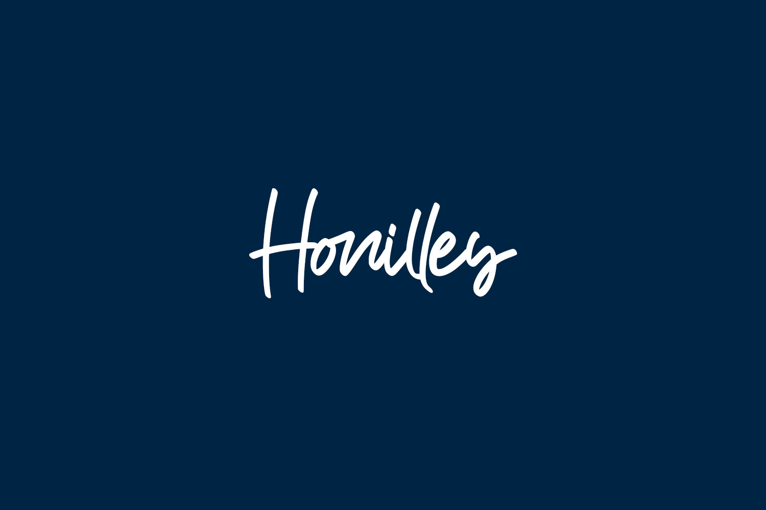 Honilley Free Font