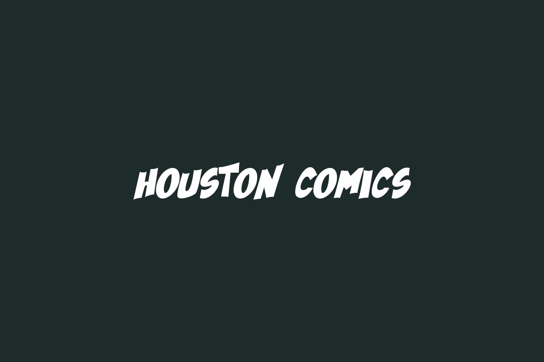 Houston Comics Free Font