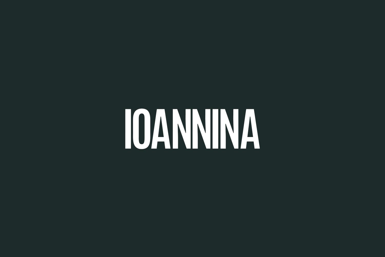 Ioannina Free Font