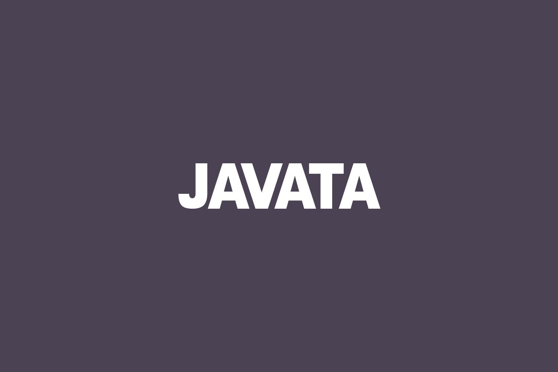 Javata Free Font