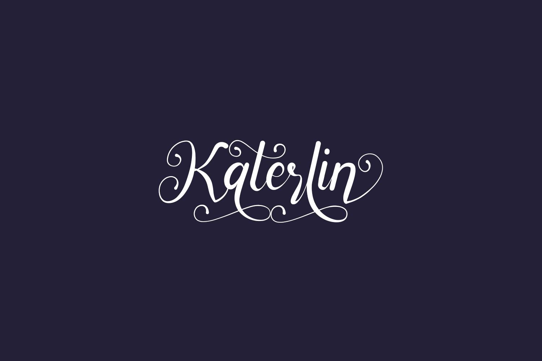 Katerlin Free Font