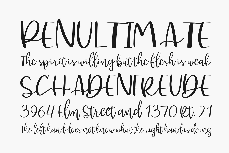 Kursive Free Font