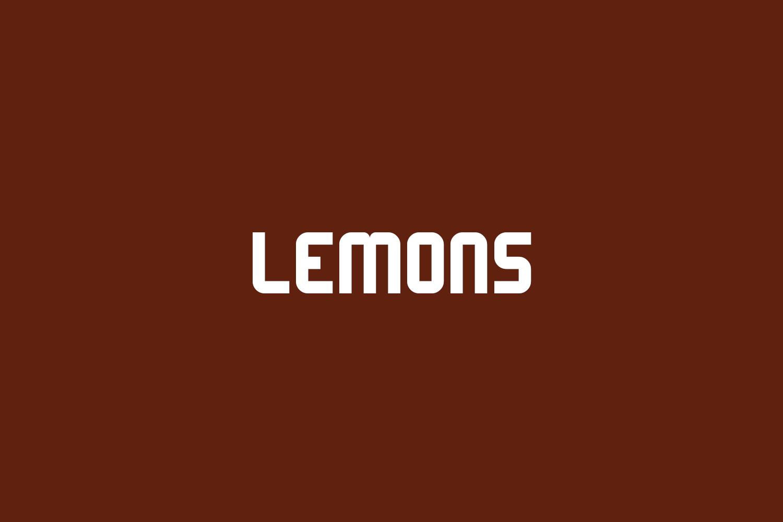 Lemons Free Font