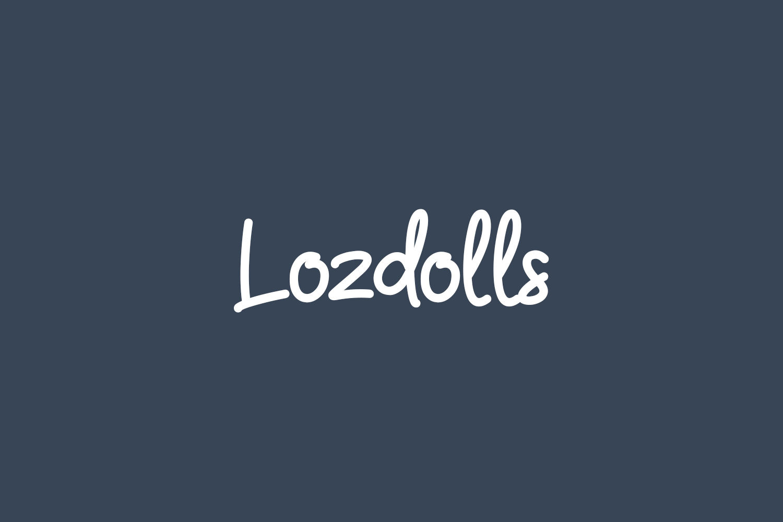 Lozdolls Free Font