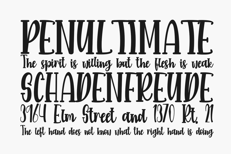 Marmitte Free Font