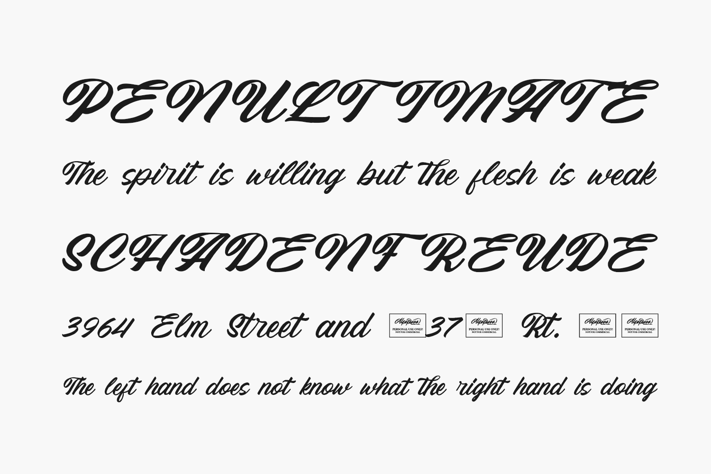 Memphis Free Font