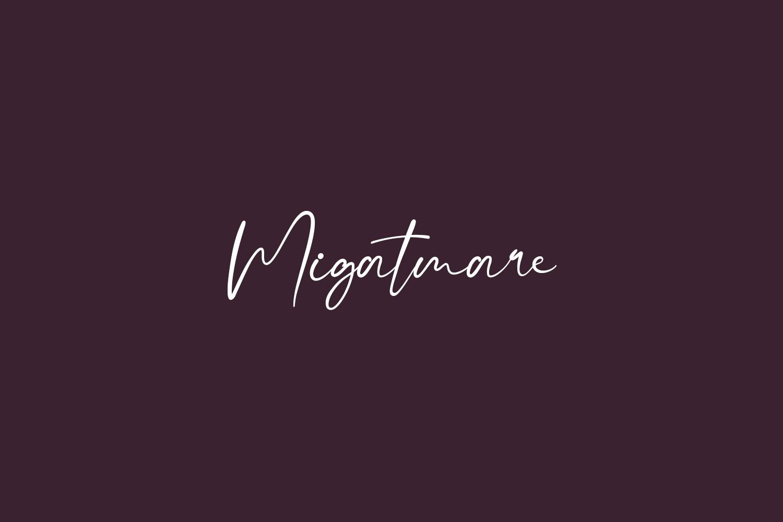 Migatmare Free Font