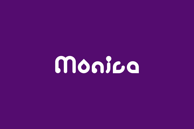 Monica Free Font