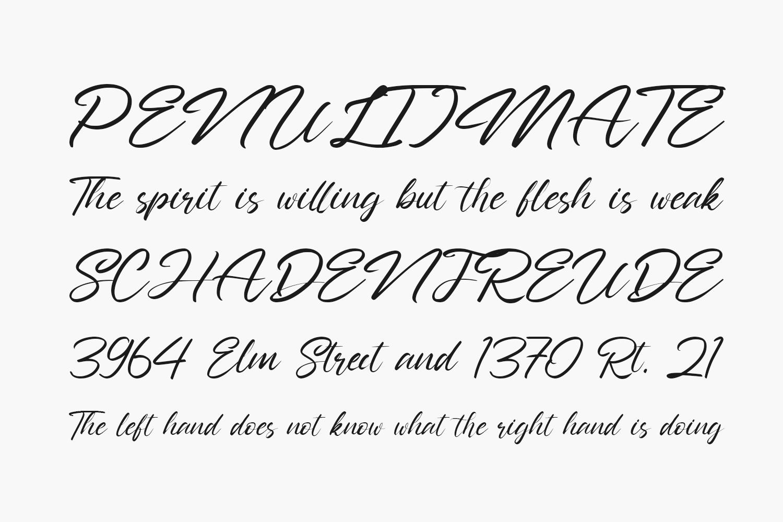 Nathallis Free Font