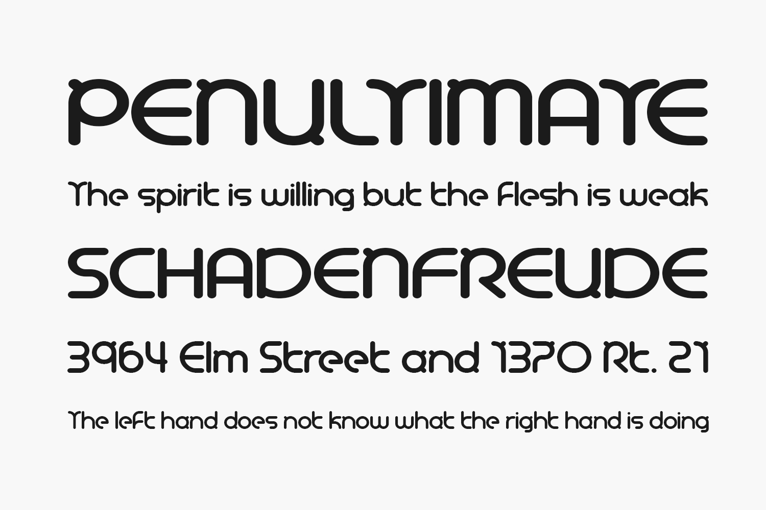 Night Trippers Free Font