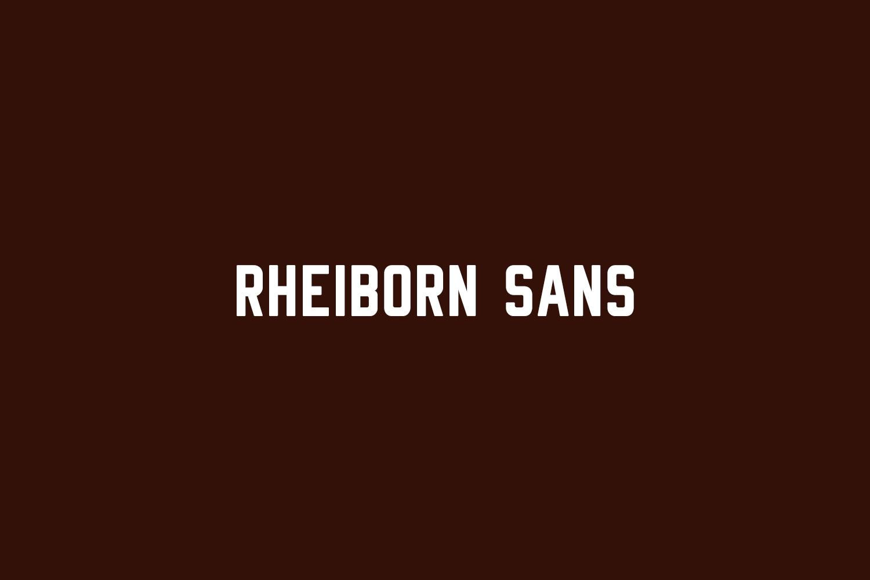 Rheiborn Sans