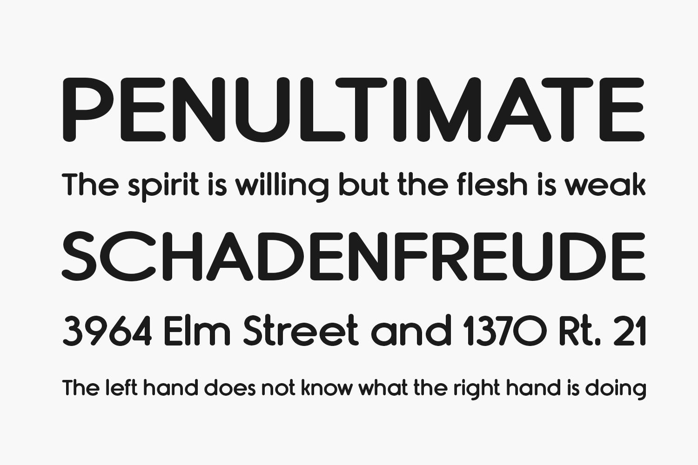 Rimouski Free Font