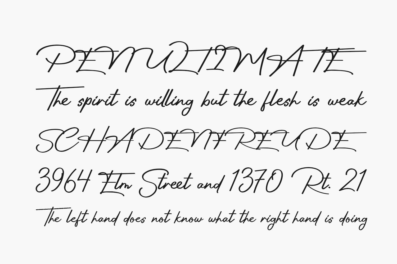Sun Deep Free Font