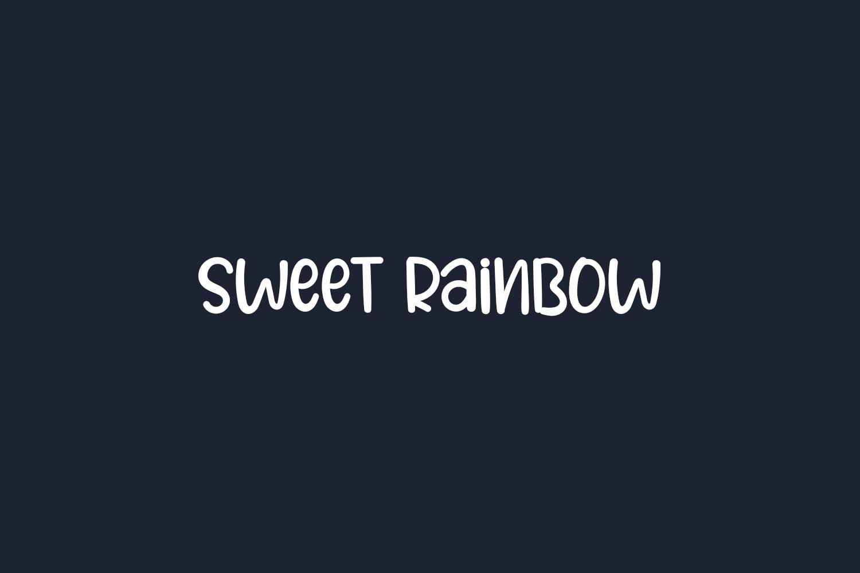 Sweet Rainbow Free Font