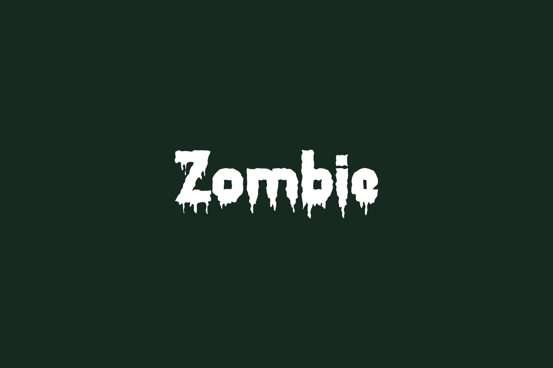 Zombie Free Font
